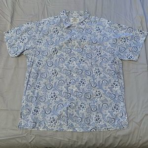 Ralph Lauren Polo Jeans Co. paisley camp shirt